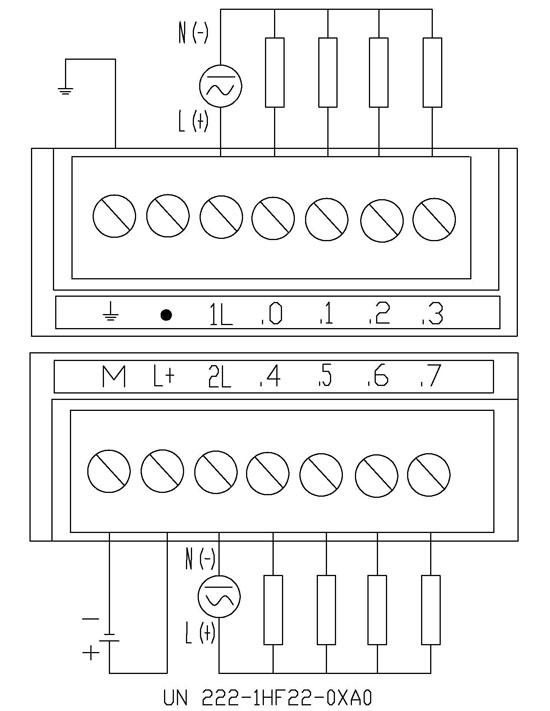 io模块 数字量输入接线