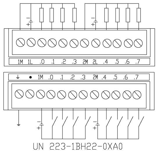 西门子em223数字量输入输出模块(原装现货)西门子em