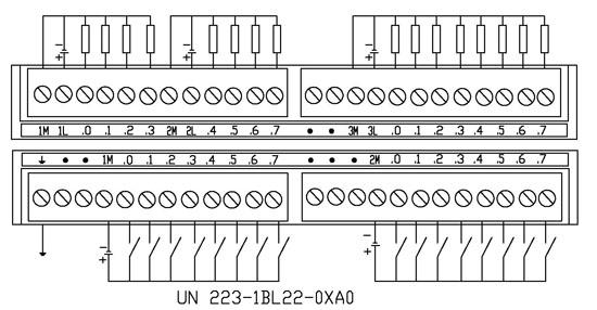 三菱fx2n-32er扩展模块接线图
