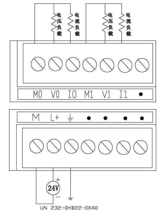 unimat-西门子兼容模块 un200模拟量扩展模块 un 232-0hb22-0xa0