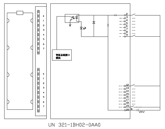 un120plc接线图